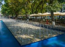 Parc d'Erevan Shahumyan photographie stock