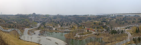 Parc d'expo de Pékin Photographie stock