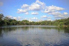 Parc d'Ibirapuera, Sao Paulo, Brésil Photographie stock libre de droits