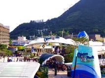 Parc d'océan en Hong Kong images stock
