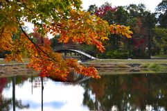 Parc d'orme, Worcester photographie stock
