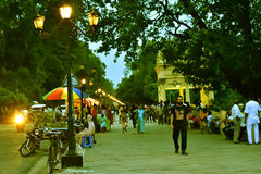 Parc dans l'Inde de Chandannagar Photographie stock