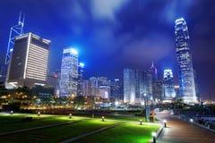 Parc dans la ville de Hong Kong Photographie stock libre de droits