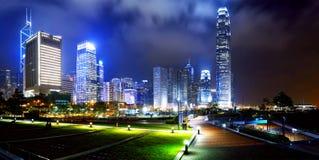 Parc dans la ville de Hong Kong Photo stock