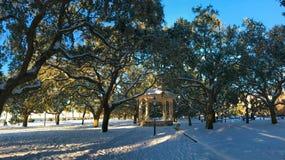 Parc de batterie Charleston, janvier de 2018 Photos libres de droits