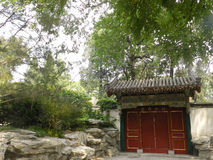 Parc de Beihai (dans Pékin) Images libres de droits