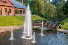Parc de Belmontas à Vilnius images libres de droits