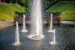 Parc de Belmontas à Vilnius photographie stock libre de droits