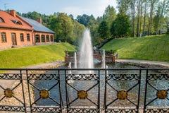 Parc de Belmontas à Vilnius image stock
