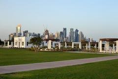 Parc de Bidda dans Doha, Qatar photos libres de droits