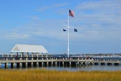 Parc de bord de mer, Charleston Images stock