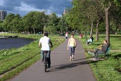 Parc de Boston photos libres de droits
