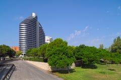 Parc de Capcalera à Valence, Espagne image stock