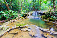 Parc de cascade de forêt de Sra Nang Manora Phangnga Nation Photo stock
