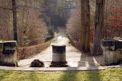 Parc de château dans des Frances de Saint Cloud Image libre de droits