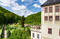 Parc de château de Weesenstein Photos stock