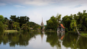 Parc de Chalerm Prakiat Photos stock