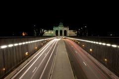 Parc de Cinquantenaire, Bruxelas Fotos de Stock Royalty Free