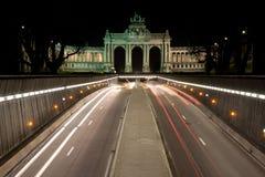 Parc de Cinquantenaire, Bruxelas Imagem de Stock