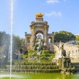 Parc de Ciutadella à Barcelone Image libre de droits