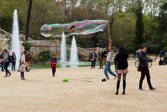 Parc de Ciutadella à Barcelone Images libres de droits