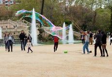 Parc de Ciutadella à Barcelone Photos libres de droits