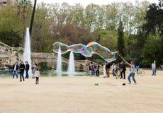 Parc de Ciutadella à Barcelone Images stock