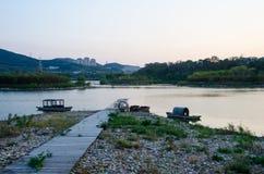 Parc de Dalian Xishanhu photographie stock libre de droits