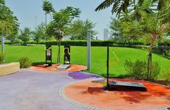Parc de Delma - caractéristiques de gymnase photos libres de droits