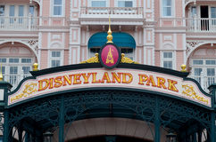 Parc de Disneyland photo stock
