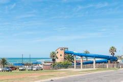 Parc de divertissement de l'eau dans la baie de Jeffreys Image libre de droits