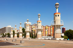 Parc de Espanya Industrial in summer day Royalty Free Stock Photo