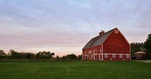 Parc de ferme de Hovander dans Ferndale, Washington Photographie stock libre de droits