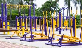 Parc de forme physique en Thaïlande Photos stock