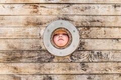 Parc de garçon au printemps, Luxembourg Photographie stock libre de droits