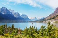 Parc de glacier photo stock