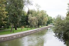 Parc de Gorki à Minsk Image libre de droits