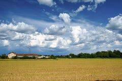 Parc de Grugnotorto, paysage pendant le printemps Photos stock
