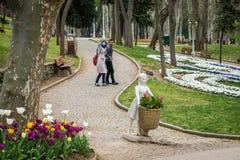 Parc de Gulhane à Istanbul, Turquie Photo libre de droits