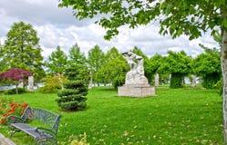Parc de Herastrau, Bucarest, Roumanie Images libres de droits