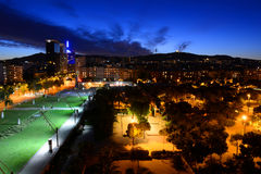 Parc de Joan Mirà ³, Βαρκελώνη, Ισπανία Στοκ Εικόνες