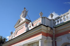 Parc de Kuskovo à Moscou photographie stock libre de droits