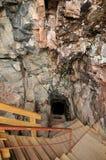 Parc de la Caverne Trou de la Fee in Desbiens Stock Photos