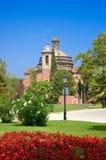 Parc de la Ciutadella。巴塞罗那,西班牙。 免版税库存图片