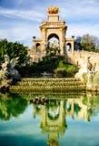 parc de la Ciutadella,巴塞罗那 库存图片