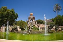 Parc de la Ciutadella Images stock