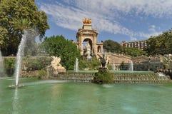Parc de la Ciutadella Fotos de Stock Royalty Free