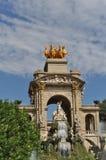 Parc de la Ciutadella Foto de Stock Royalty Free