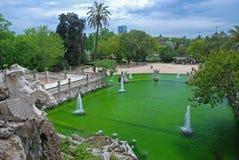 Parc de la Ciutadella, Barcelona Fotografering för Bildbyråer