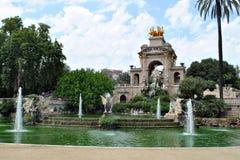 Parc DE La Ciutadella, Barcelona Royalty-vrije Stock Afbeeldingen